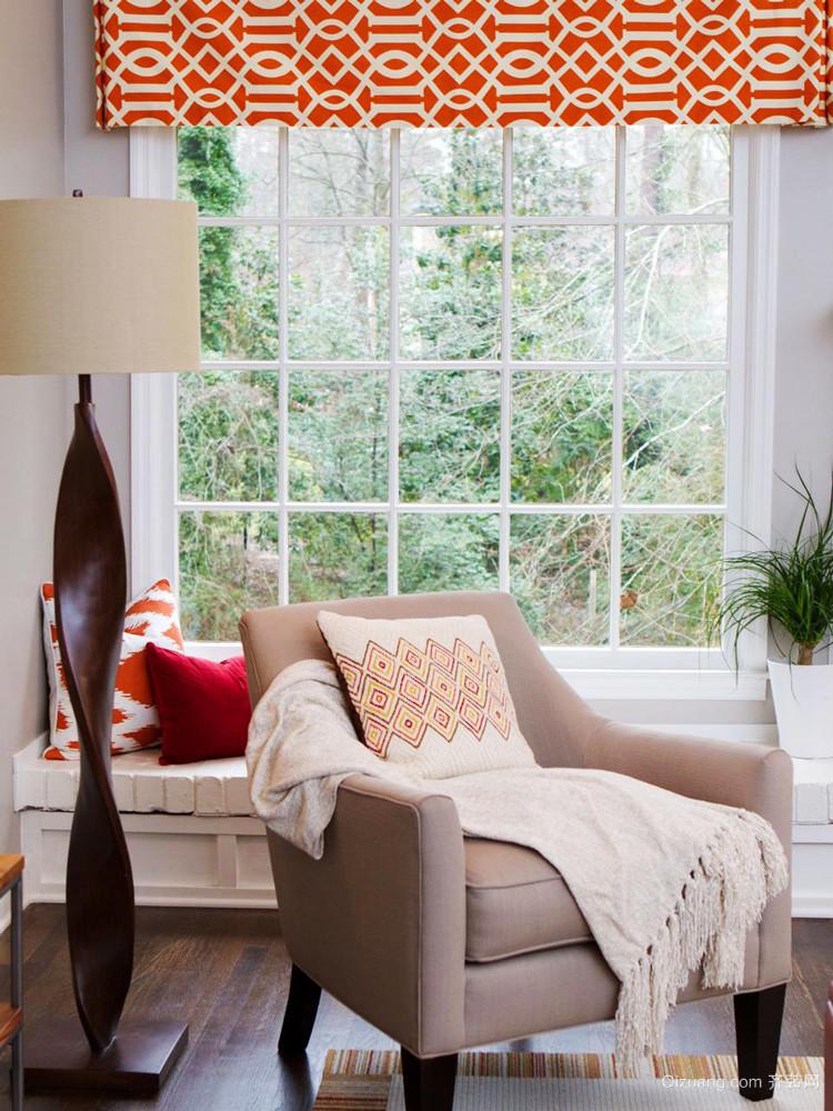 欧式风格精美休闲飘窗设计效果图