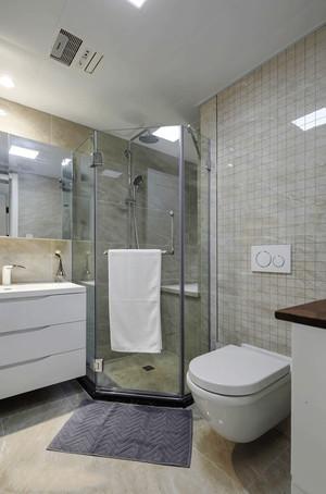8平米现代简约风格卫生间淋浴房装修效果图