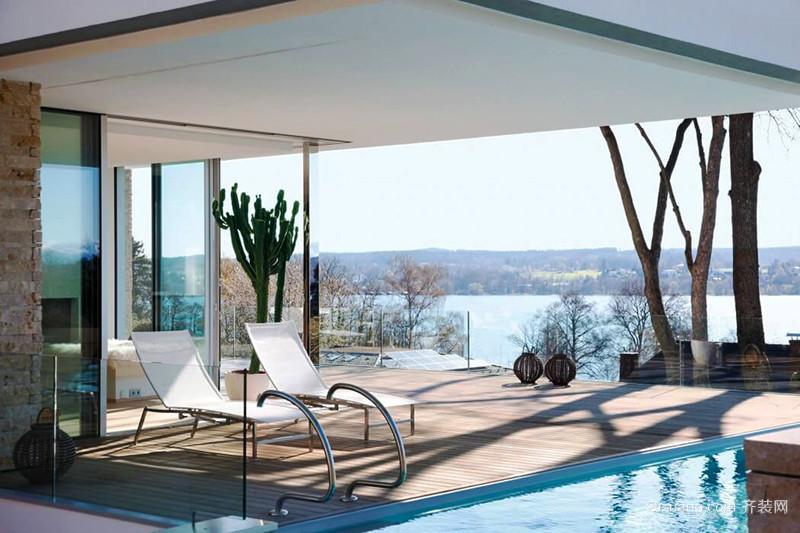 300平米现代简约风格别墅室内装修效果图