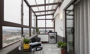 97平米现代简约风格小复式楼室内装修效果图