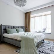 20平米宜家风格小户型卧室装修效果图