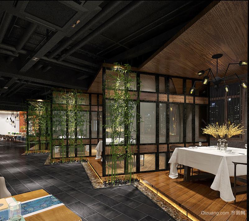 后现代风格精致餐厅设计装修效果图
