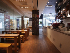 现代风格精致中餐厅设计装修效果图