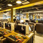 140平米现代风格精致网吧装修效果图赏析