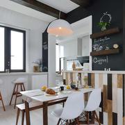 北欧风格简约小户型厨房餐厅装修效果图