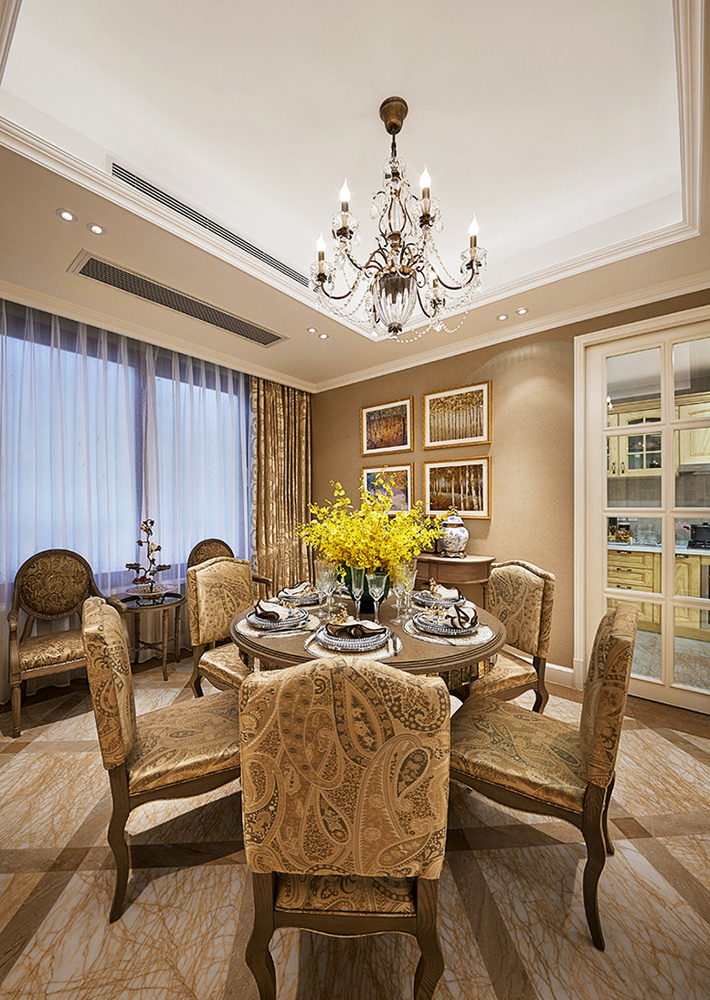 法式风格精美奢华大户型室内设计装修效果图