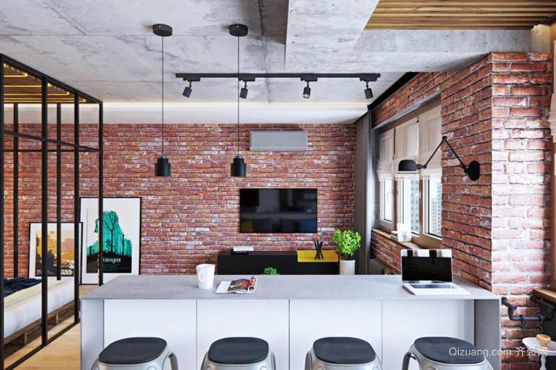 后现代风格精致单身公寓设计装修效果图赏析