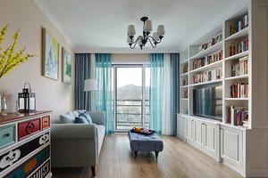 混搭风格时尚精美客厅组合电视柜装修效果图