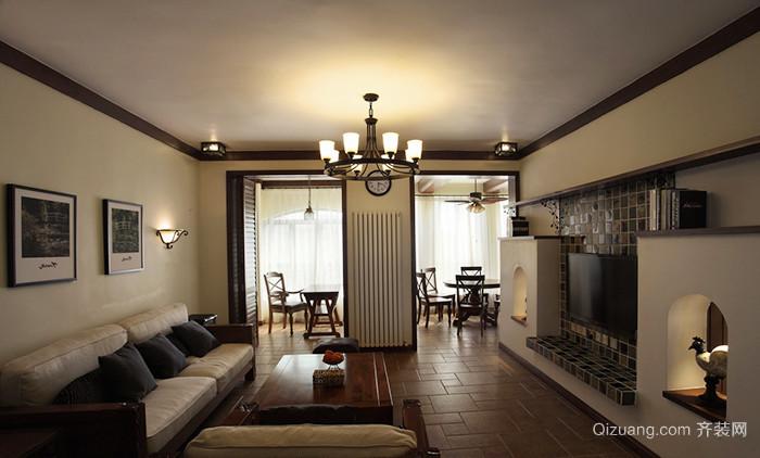 183平米混搭风格精致复式楼室内装修效果图赏析