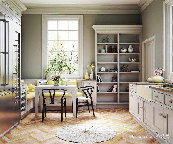 现代风格精美开放式厨房餐厅装修效果图赏析