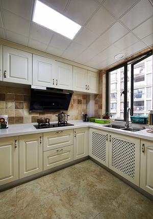 120平米美式风格室内设计装修效果图案例