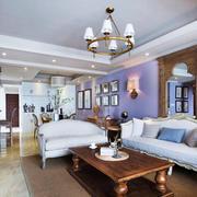 欧式风格典雅精美精装客厅装修效果图赏析