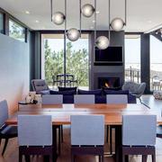 现代风格极致简约餐厅设计装修效果图鉴赏