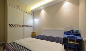 现代简约风格精装两室两厅婚房装修效果图赏析