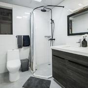 现代风格精致卫生间淋浴房装修实景图欣赏