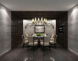 中式风格古典精致酒店包厢装修效果图