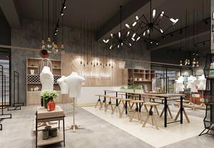 60平米简约风格服装店设计装修效果图