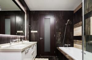 80平米后现代风格室内设计装修效果图案例