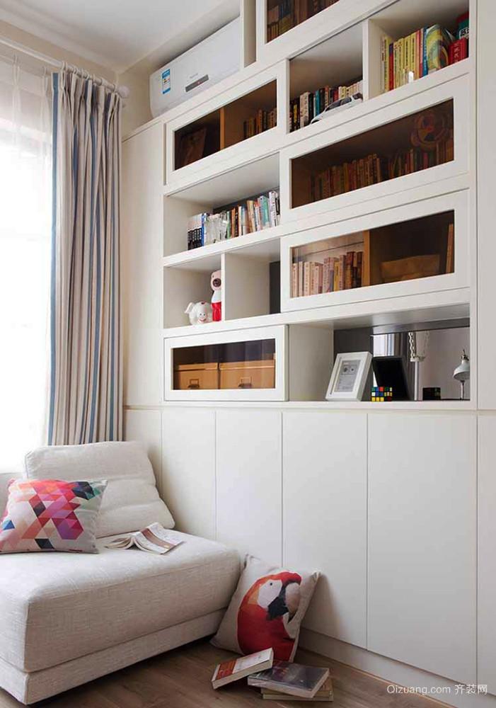 简约风格清新自然两室两厅室内装修效果图