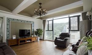 280平米欧式田园风格别墅室内装修效果图案例