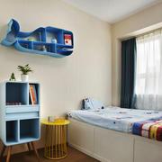 清新风格时尚精美儿童房设计装修效果图