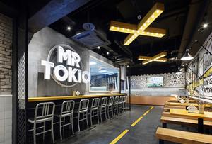 后现代风格创意餐厅吧台设计装修效果图