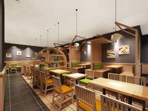 宜家风格温馨餐厅设计装修效果图