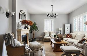 240平米北欧风格自然精美别墅室内设计装修效果图