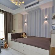 北欧风格简约温馨儿童房装修效果图
