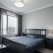 后现代风格黑色系精致卧室装修效果图赏析