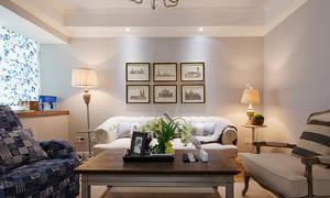 98平米简欧风格精美两室两厅室内设计装修效果图