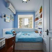 20平米欧式风格清新儿童房卧室装修效果图
