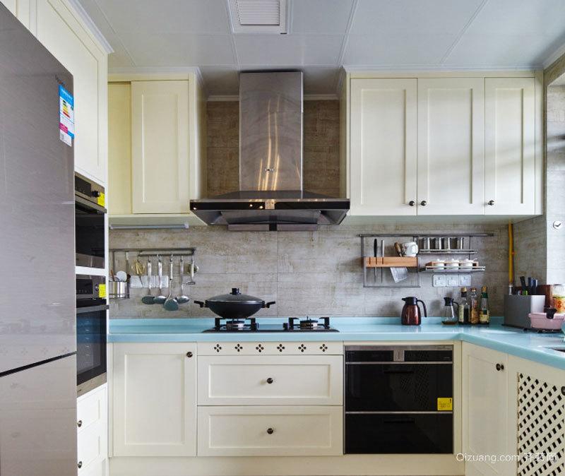 田园风格精装厨房装修效果图赏析