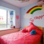 现代简约风格小户型精美儿童房装修效果图