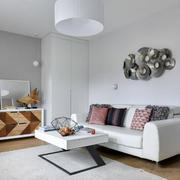 现代风格小户型时尚客厅设计装修效果图