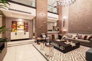 330平米新古典主义风格精致别墅室内设计装修效果图