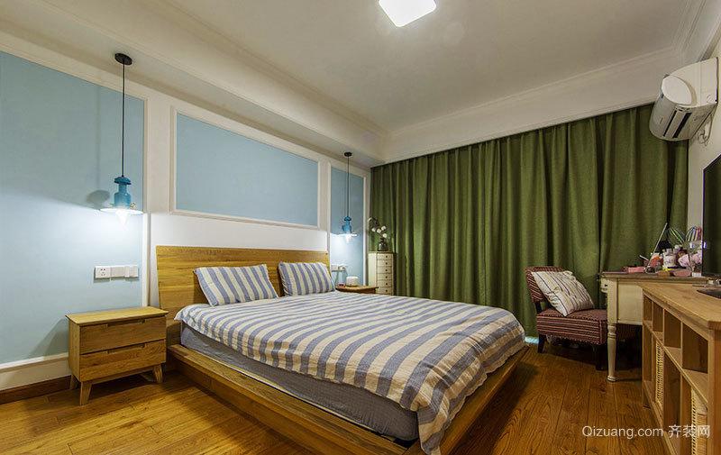 宜家风格自然原色卧室装修效果图