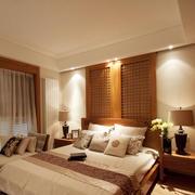中式风格素雅简约卧室装修效果图赏析
