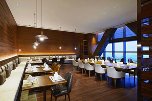 现代风格五星级酒店餐厅装修效果图