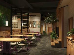 混搭风格创意中餐厅装修效果图赏析