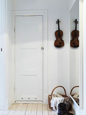 北欧风格古典混搭单身公寓装修效果图赏析