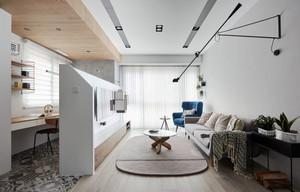 62平米简约风格白色精致公寓装修效果图赏析