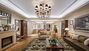 古典欧式风格奢华精美别墅室内设计装修效果图