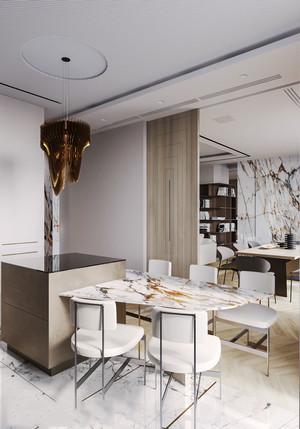 后现代风格据精美餐厅设计装修效果图赏析