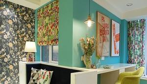 67平米混搭风格精美一居室室内装修效果图
