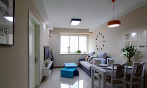 84平米简约风格精美两室两厅室内装修效果图赏析