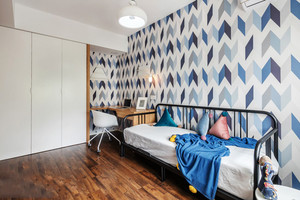 北欧风格简约儿童房设计装修效果图