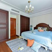 美式风格大户型精致卧室装修实景图鉴赏