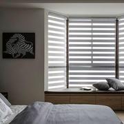 现代风格休闲飘窗设计装修效果图