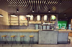 现代风格餐厅吧台设计装修效果图